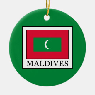 Maldives Ceramic Ornament