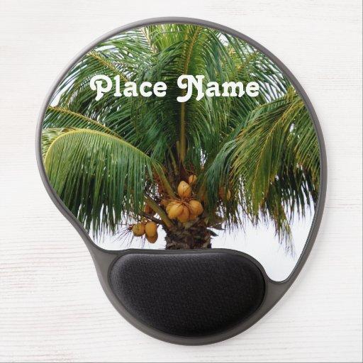 Maldives Coconut Palm Gel Mousepads
