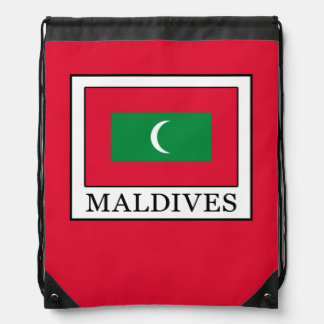 Maldives Drawstring Bag