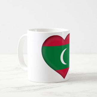 Maldives Flag Coffee Mug
