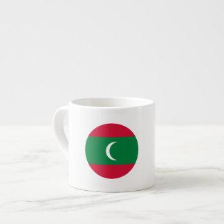 Maldives Flag Espresso Cup