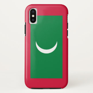 Maldives Flag iPhone X Case