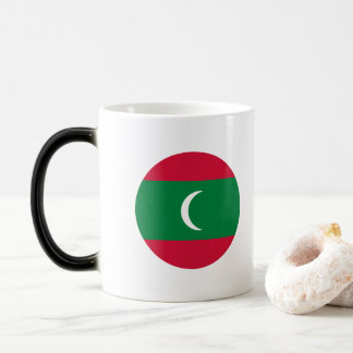 Maldives Flag Magic Mug