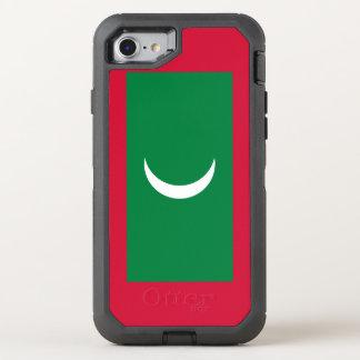 Maldives Flag OtterBox Defender iPhone 8/7 Case