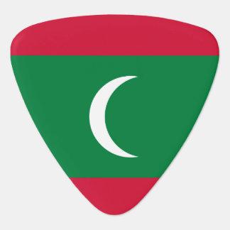 Maldives Flag Plectrum