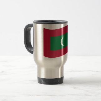 Maldives Flag Travel Mug