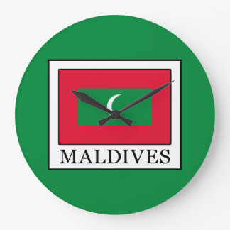 Maldives Large Clock