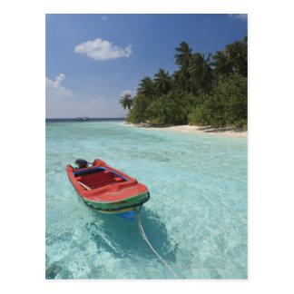 Maldives, Male Atoll, Kuda Bandos Island Postcard