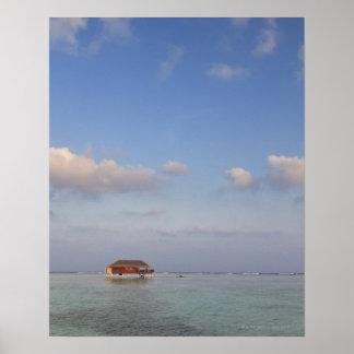 Maldives, Meemu Atoll, Medhufushi Island, luxury Poster