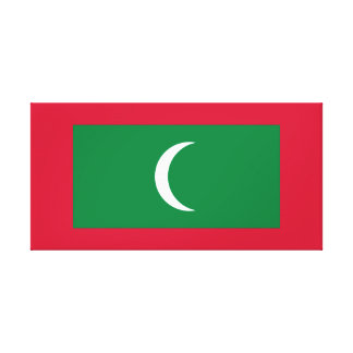 Maldives National World Flag Canvas Print