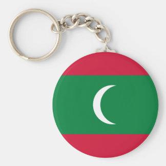 Maldives National World Flag Key Ring