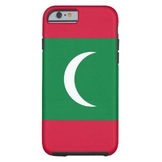 Maldives National World Flag Tough iPhone 6 Case