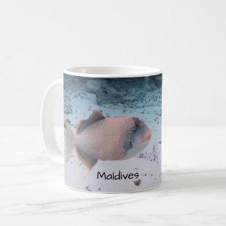 Maldives Paradise Beautiful Coral Fish Souvenir Coffee Mug