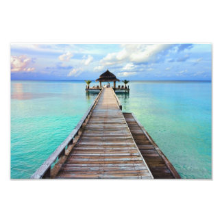 Maldives Serenade Jetty Photo Print
