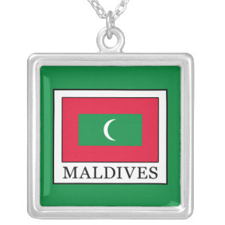 Maldives Silver Plated Necklace