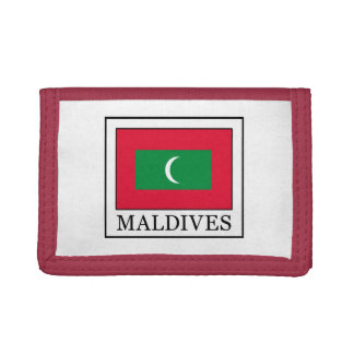 Maldives Trifold Wallet