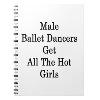 Male Ballet Dancers Get All The Hot Girls Notebook
