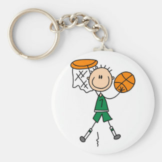 Male Basketball Player Tshirts and Gifts Key Chains