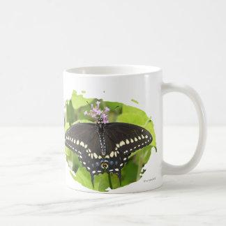 Male Black Swallowtail Butterfly Mug