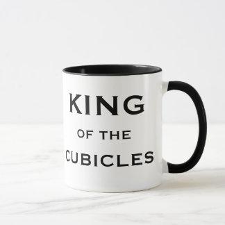 Male Boss Funny Joke Nickname King of Cubicles Mug