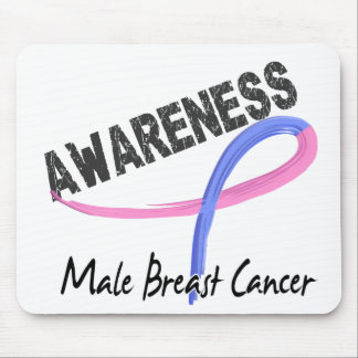 Male Breast Cancer Awareness 3 Mouse Pads
