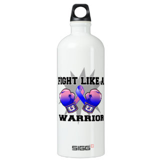 Male Breast Cancer Fight Like a Warrior SIGG Traveller 1.0L Water Bottle