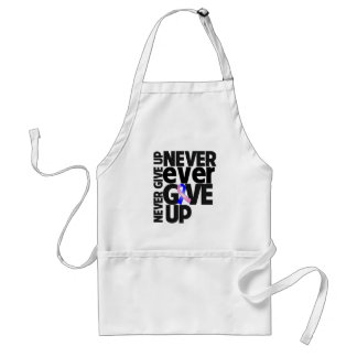 Male Breast Cancer Never Ever Give Up Aprons