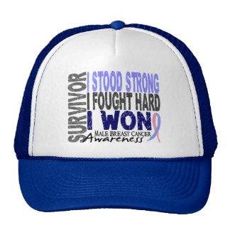 Male Breast Cancer Survivor 4 Trucker Hat
