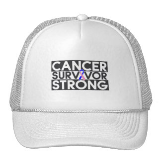 Male Breast Cancer Survivor Strong Hats