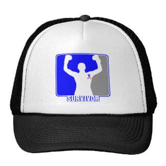 Male Breast Cancer Winning Survivor Trucker Hat
