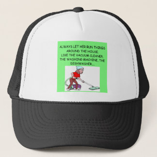 male chauvinist pig jokes trucker hat