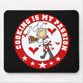 Male Chef Cooking Passion Mousepad