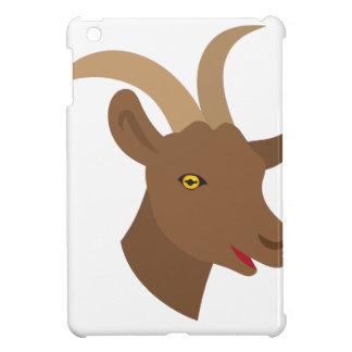 male cute goat face iPad mini cover