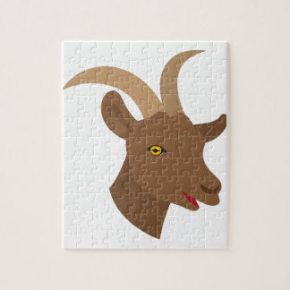 male cute goat face jigsaw puzzle