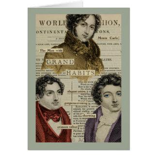 Male Fashion Card