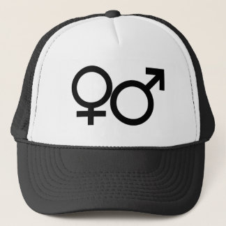 Male Female Sign Hat