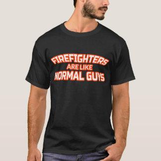 Male Firefighter T Shirt - Fireman Gifts