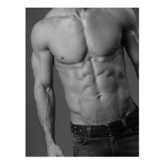 Male Fitness Model Postcard #4