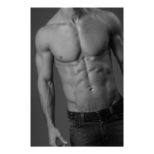 Male Fitness Model Poster #4