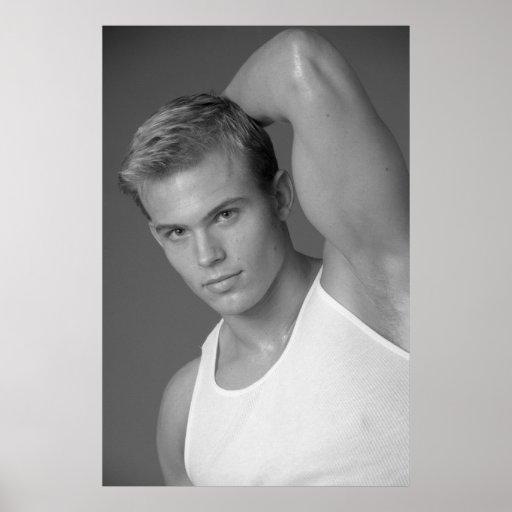 Male Fitness Model Poster #9878