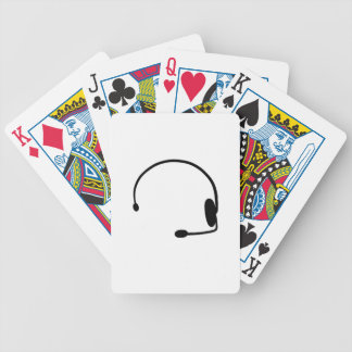 Male Gamer Bicycle Playing Cards