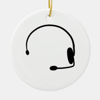 Male Gamer Ceramic Ornament