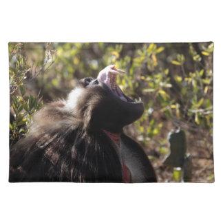 Male gelada baboon (Theropithecus gelada) Placemat