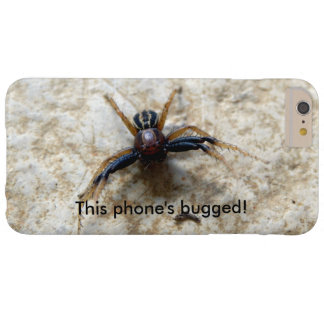 Male Ground Crab Spider Bugged iPhone Case