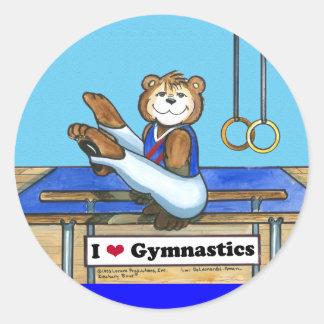 Male Gymnast Stickers
