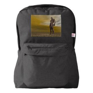 Male homo erectus - 3D render Backpack