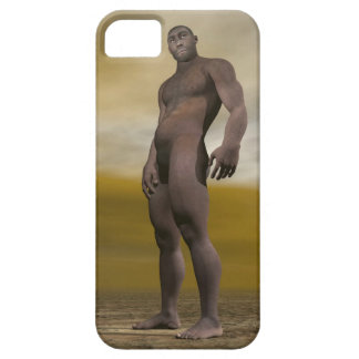 Male homo erectus - 3D render Barely There iPhone 5 Case