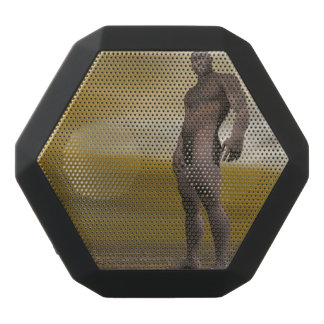 Male homo erectus - 3D render Black Bluetooth Speaker