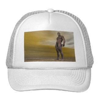 Male homo erectus - 3D render Cap