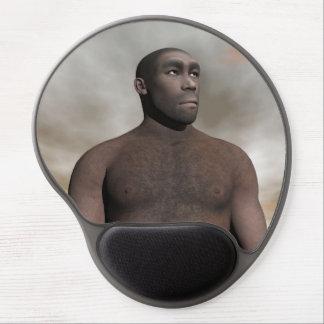 Male homo erectus - 3D render Gel Mouse Pad